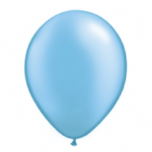 "Qualatex 11 inch Balloons - Pearl Azure 11"" Balloons (Pastel 25pcs)"
